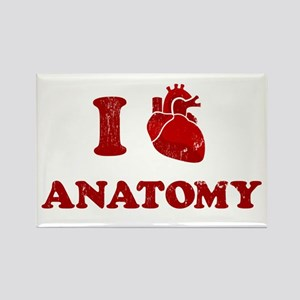 i love anatomy Rectangle Magnet